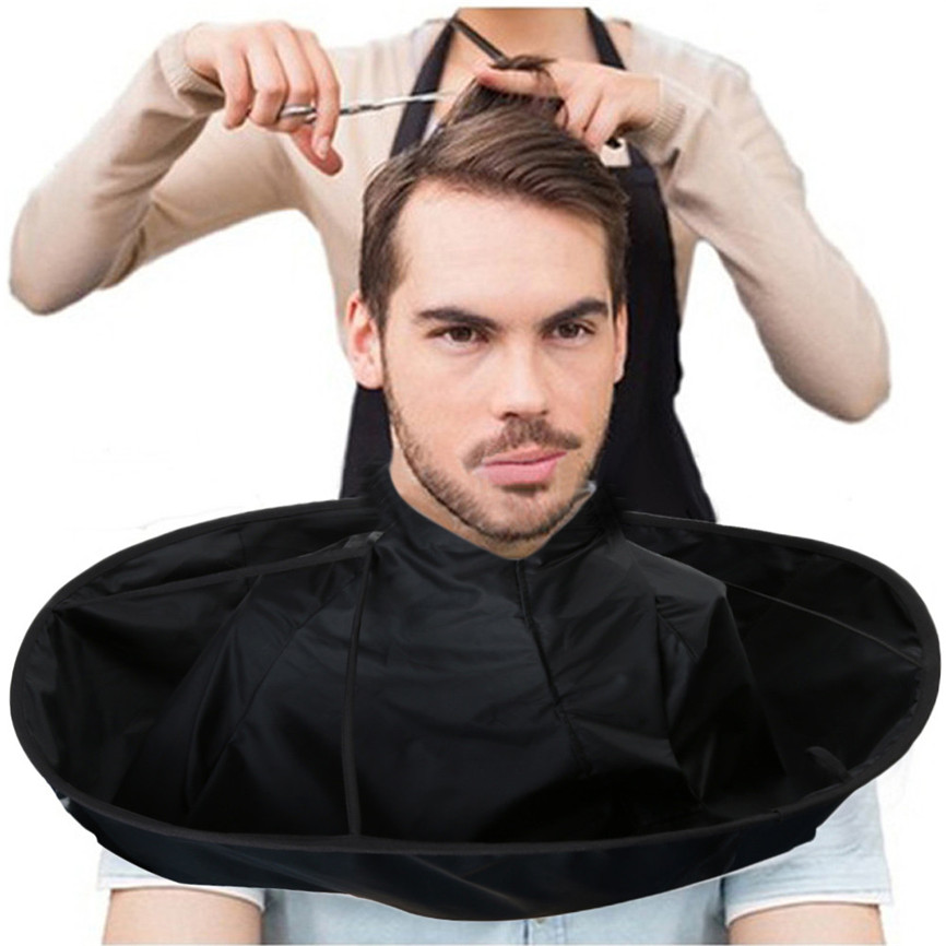 DIY Hair Cutting Cloak Umbrella Cape Salon Barber Salon And Home Stylists Using For Salon Barber Special Hair Accessory J#2(China)