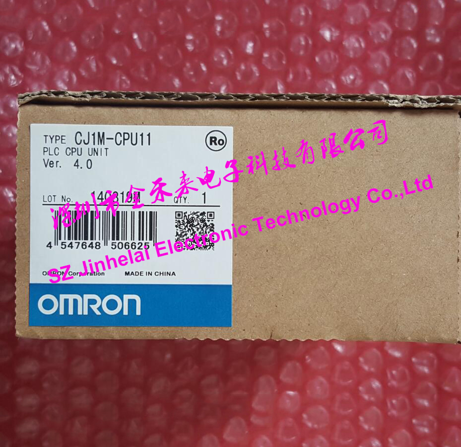 CJ1M-CPU11 Authentic original OMRON CPU UNIT