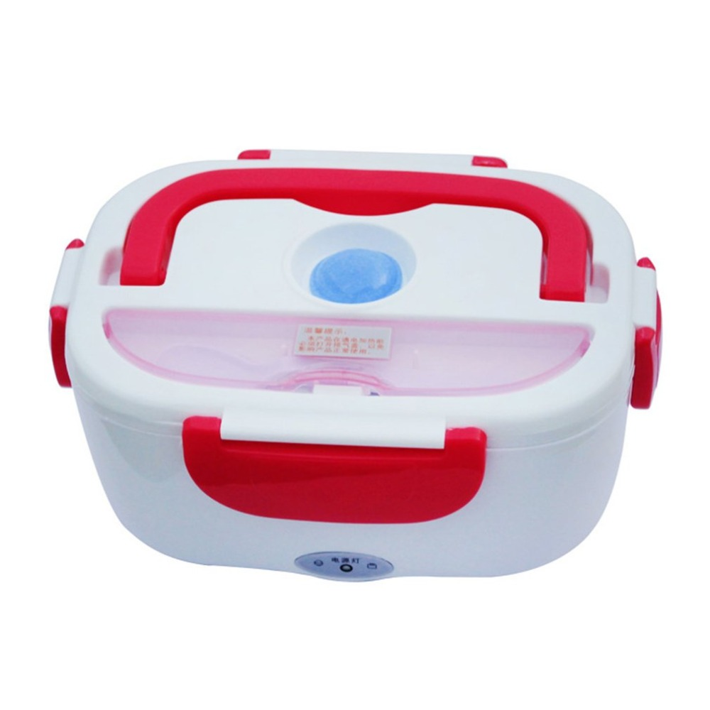 Portable 1.05L Electric Heating Lunch Box With Car Plug Food Warmer For School Office Home Plastic DinnerwarePortable 1.05L Electric Heating Lunch Box With Car Plug Food Warmer For School Office Home Plastic Dinnerware