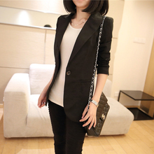 2017 autumn winter womens stylish blazers plus size jacket female lined striped suits feminino cotton outerwear