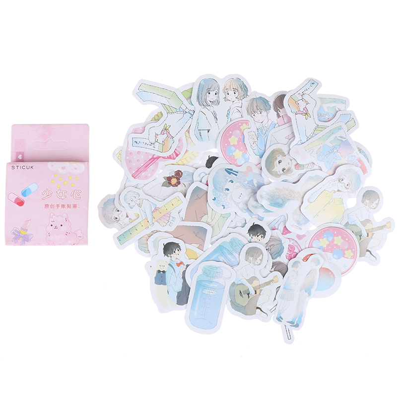 Hot sale Girl Heart Time Bullet Journal Decorative Stationery Stickers Scrapbooking DIY Diary Album Stick Label(China)