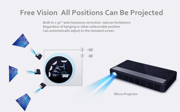 Long Life LED Full HD Home Cinema TV Projector 3D  Multimedia Video Game Smart Dual WIFI Projectors Bluetooth Digital MINI Light