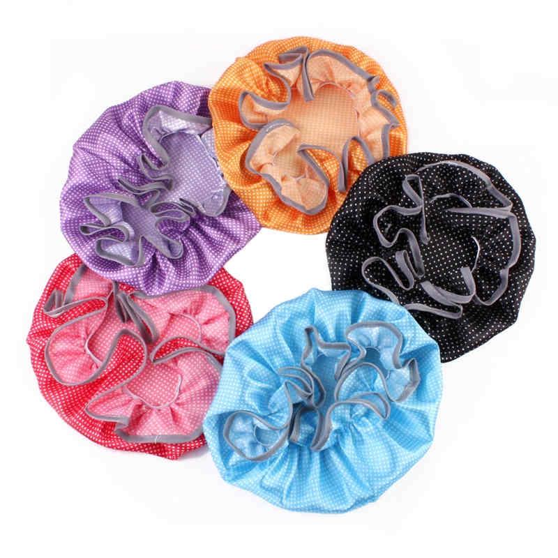 Baby Shower Cap Kids Waterproof Elastic Bath Hat Hair Wash Shield Baby Care