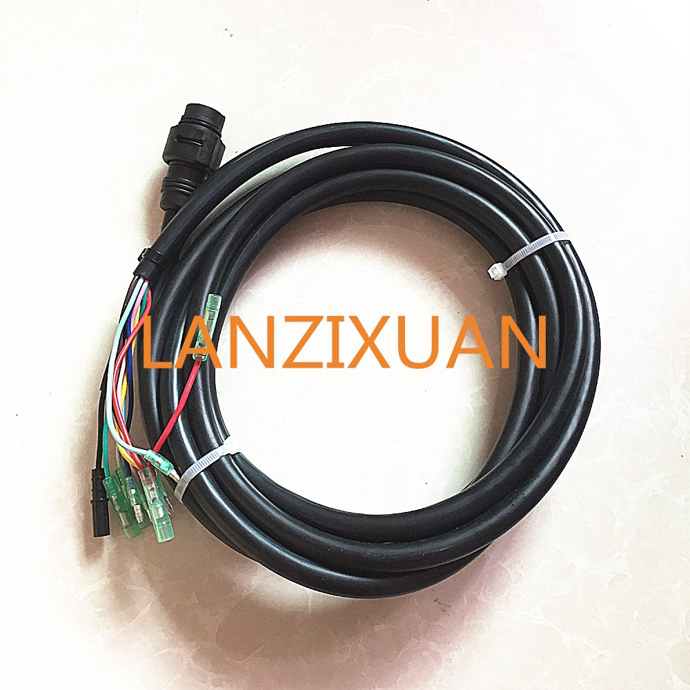 703 remote control box main harness 10pin replace cable 688 8258a 20 cable  for yamaha outboard engine control box-in boat engine from automobiles