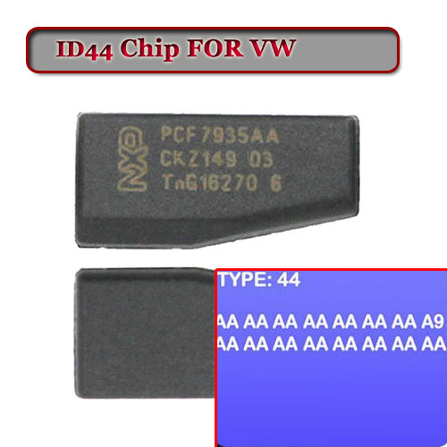 Free shipping ID 44 (T15) PCF7935 Crypto Transponder Chip For VW (10pcs/lot) 10pcs free shipping tny178pn tny187p tny187 dip7 lcd chip 100