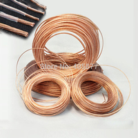 Free Shipping 4.0mm2 49strands*0.32mm Telfon Shield High Purity OCC Copper wire for audio DIY Amplifier AWG11