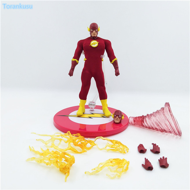 The Flash Action Figure Barry Allen Justice League PVC Figure 150mm Anime Superhero The Flash Collectible Model Doll anime one piece dracula mihawk model garage kit pvc action figure classic collection toy doll