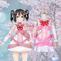 Hot Anime lovelive! cosplay Future style Nico Yazawa cos Masquerade Halloween party cosplay costume Sweet fight song clothes