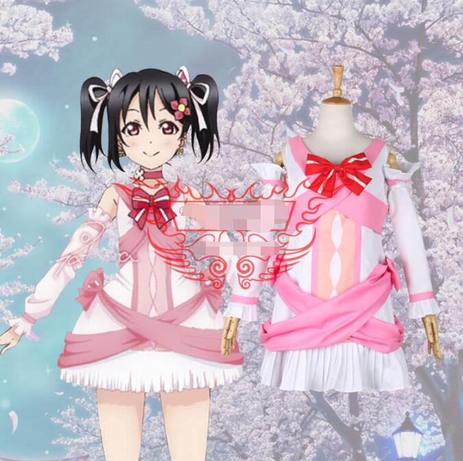 Hot Anime lovelive! cosplay Future style Nico Yazawa cos Masquerade Halloween party cosplay costume Sweet fight song clothes image