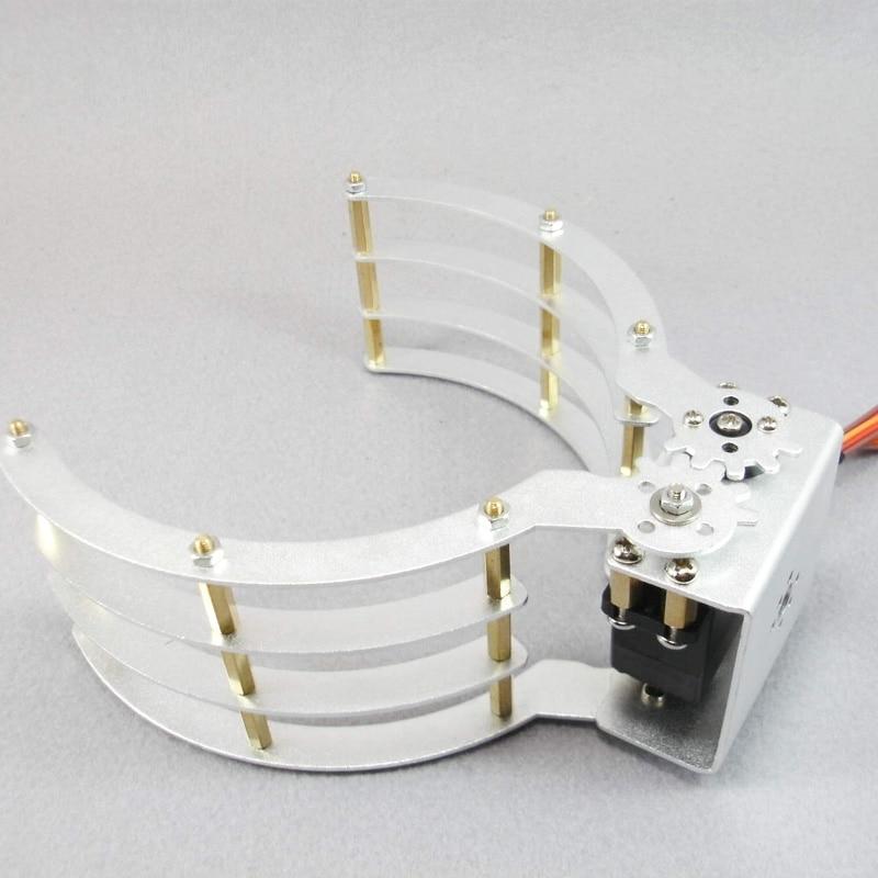 Robot Widened robot gripper jaw support Aluminium Robot Clamp Gripper Mount статуэтка my robot