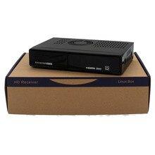 Genuino HEROBOX EX3 HD DVB-S2 + DVB-T2 + DVB-C HD Linux Enigma2 Receptor de Satélite Sin WiFi Sintonizador 752 MHZ MIPS envío gratis