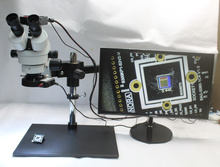 Wholesale 3.5X~90X Trinocular Guide Stereo Zoom Microscope With 16MP 1080P HDMI Camera 25cm Working Distance PCB Inspection Phone Repair