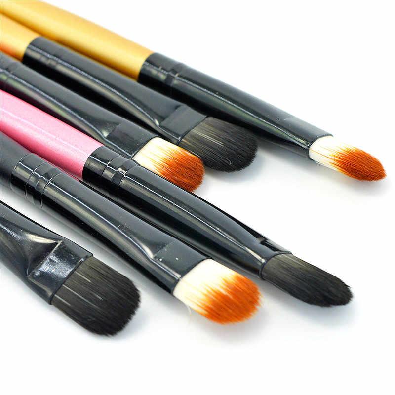 1 piezas pintura Gouache cepillos diferentes forma redonda Punta de pelo de Nylon pintura cepillo arte suministros