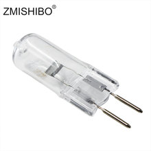 ZMISHIBO 5PCS Top Quality Halogen Bulb GY6.35 24V 150W Clear Glass Tungsten Lamps Dimmable Clear Each Bulb With An Inner Box(China)
