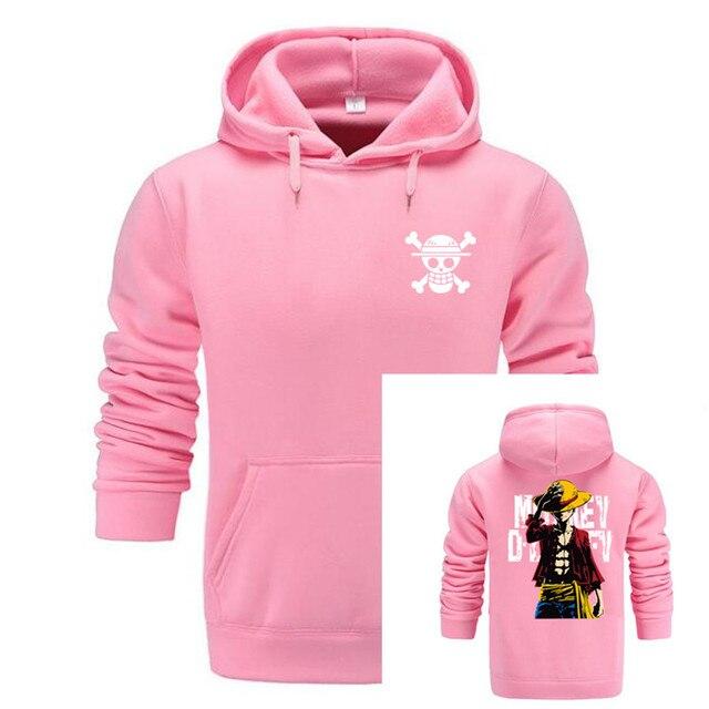 GVHHCK One Piece Skull Hoodie Hoodies Men Women 2018 New Fashion Hip Hop Pullover Sweatshirts Sweat Homme 3D Hoody Tops 3
