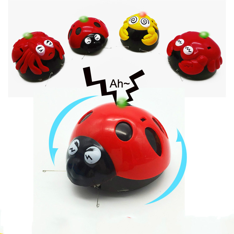 Newest Childrens Favourite Plastic Infrared  Crab Electronic Pet Spanking Insects Worm Kids Baby Toy