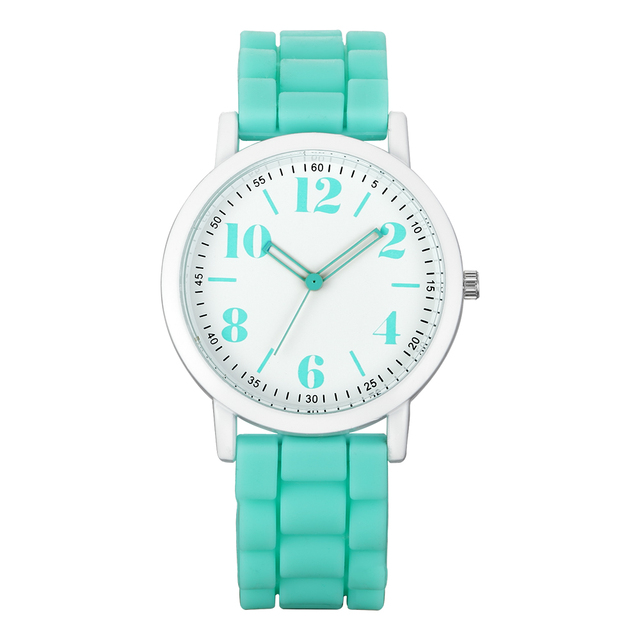 2018 Original High Quality Silicone Strap Watch Fashion Sports Style Watches Sum