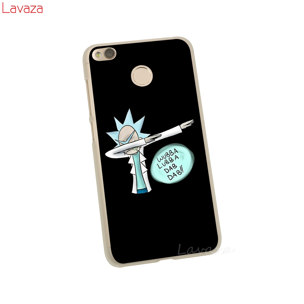 Lavaza Rick and Morty Hard Case for Xiaomi Redmi 5 Plus 6A 4A S2 Go Note 5A Prime 5 6 7 Pro 4 4x Cover in Half wrapped Cases from Cellphones Telecommunications
