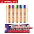 Stabilo Punkt 88 Kunst Marker 0,4mm Faser Stift 25 Farben Nadelspitze Fineliner Manga Design Skizzieren, Zeichnung