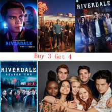 Riverdale Poster Clear Image Wall Stickers Home Decoration Good Quality Prints White Coated Paper(China)
