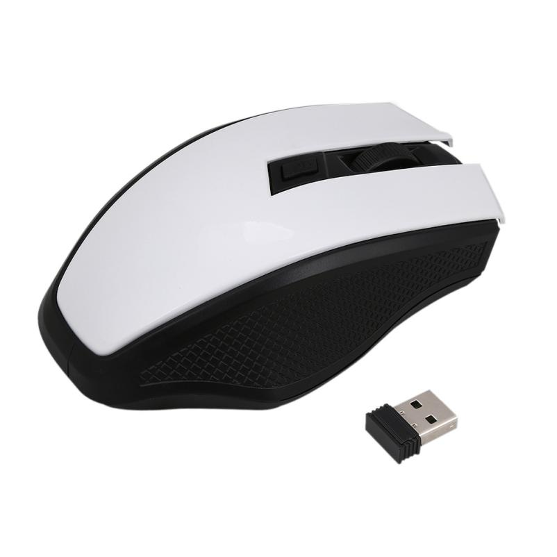 Lol 2.4GHz Wireless Optical Mouse Mice+USB Receiver For PC Laptop Macbook Gaming Mouse Blusa # T10