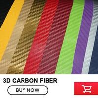 Car Styling 152cm X30M 3D Carbon Fiber Vinyl Car Wrap Sheet Roll Film Car Stickers