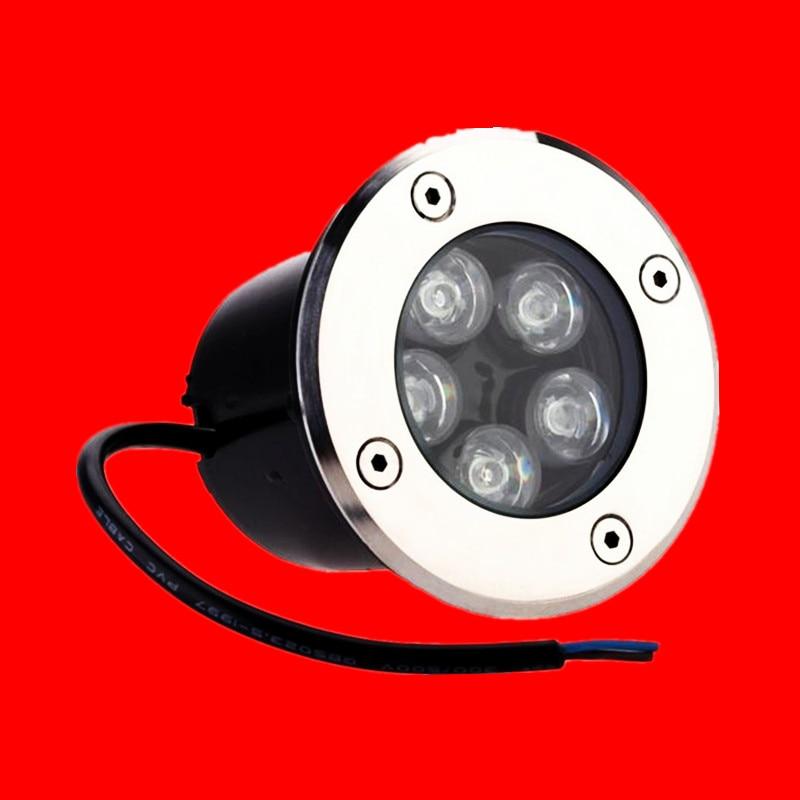 Lights & Lighting Free Shipping 5w Ip68 Ce Rohs Ac85-260v/dc12v Recessed Lighting Outdoor Lamp Led Spot Floor Garden Yard Led Underground Light Led Lamps
