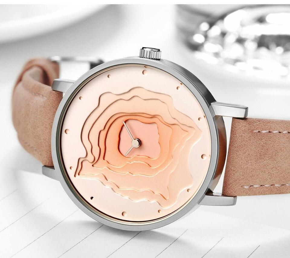 Herrenuhren Quarz-uhren Starking Internationalen Marke Minimalistischen Uhr Neue Design Männer Uhr Xfcs Leder Band Unisex Quarz Sport Uhr 3atm Wasserdicht