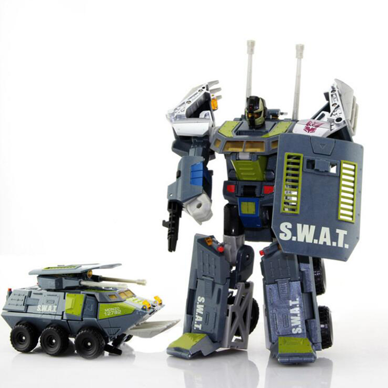 цена на New Transforming Tank Robot Action Figures Deformation Anime Car Truck Toy Cars Model Gift For The Boy Children toy