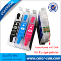 4PC T2991 29 29XL T2994 Refillable ink cartridges for Epson XP342 XP345 XP442 XP445 xp-445 xp-345 xp-342 with auto reset chips