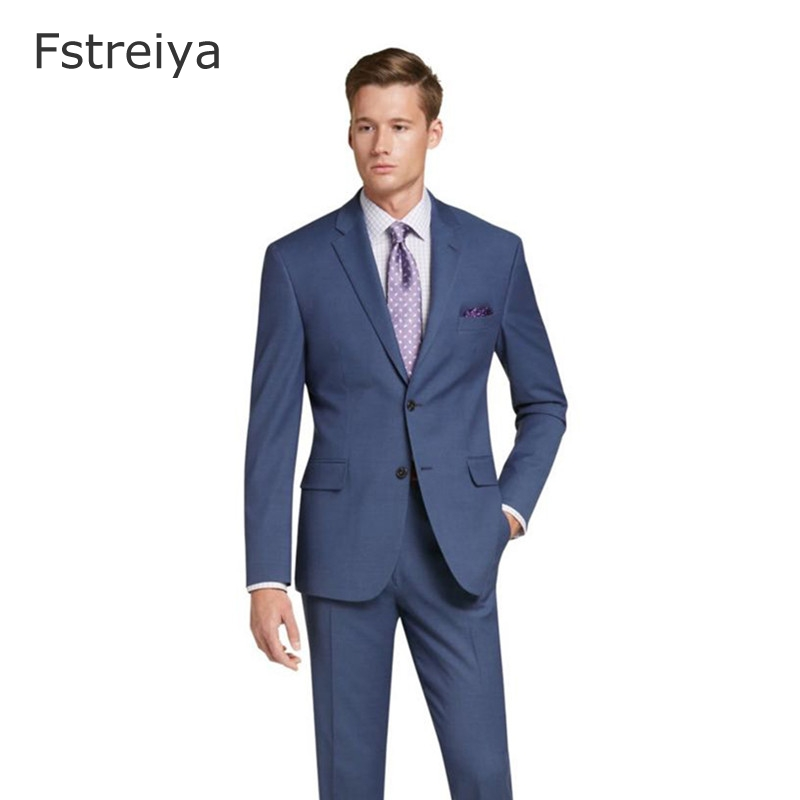 Custom Made Boutique Worsted Pure Wool Christmas Suit Men Kingsman Terno Slim Fit Business Suits Tailored Made For Wedding 2pcs