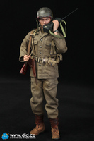 1/6 US Army Seventy Seventh Infantry Division Captain Sam A80129 Full Set Action Figures