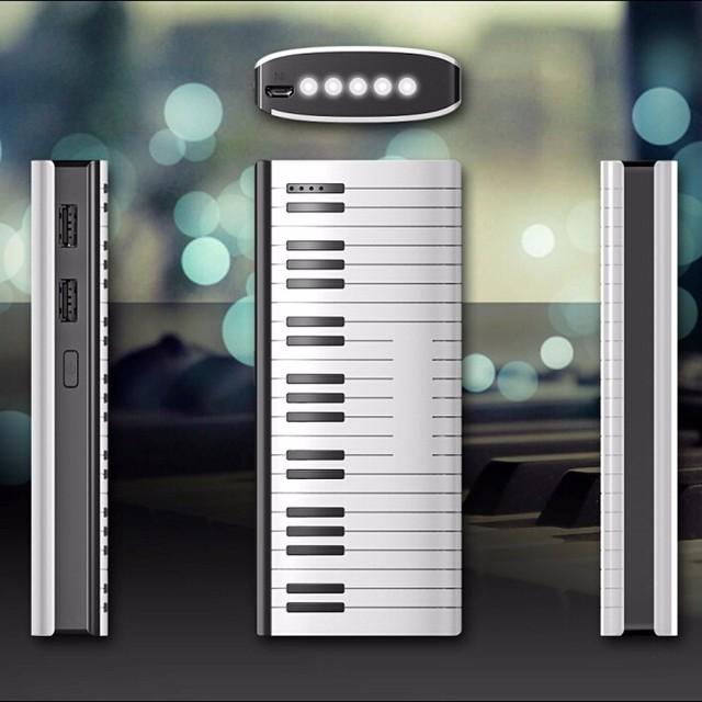 Nova marca nova venda manufactory bateria externa Dupla USB 12000 mah banco de potência portátil tablet para o transporte livre