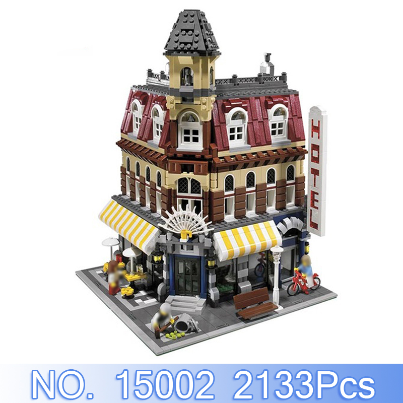 Здесь продается  Lepin 15002 City Creator Figures 2133Pcs Cafe Corner Model Building Kits Blocks Bricks Sets Toys For Children Compatible 10182  Игрушки и Хобби