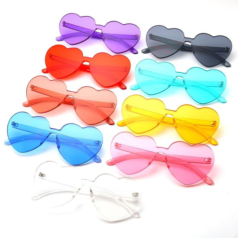 126f04fc40311e Sans monture lunettes de soleil femmes marque designer 2018 unique filles  parti lunettes rouge lunettes de soleil ombre lunettes de soleil pour femmes