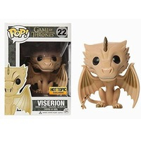 Exclusive Funko pop Official Game of Thrones Viserion Dragon Vinyl Action Figure Collectible Model Toy with Original Box
