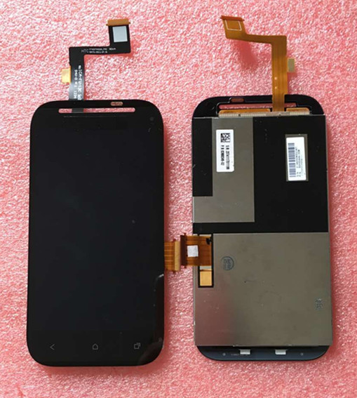 LCD screen display + touch panel digitizer For HTC Desire sv T326e black  Free shipping