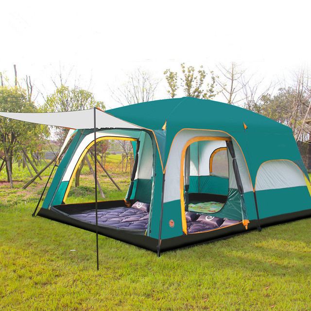 430*305*200cm 10-12 Person Large C&ing Tents Waterproof Beach Tent Pop  sc 1 st  AliExpress.com : pop up waterproof tent - memphite.com