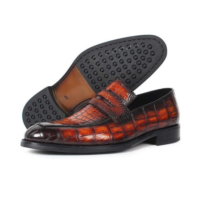 Alligator Slip-On Shoes 1