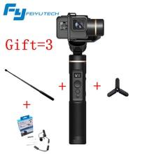 FeiyuTech G6 3 оси Gimbal Feiyu экшн-камера Wifi OLED с Bluetooth угол экрана для Hero 6 5 4 RX0 Стабилизатор камеры