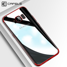 CAFELE Full Protective Fitted Case for Samsung Galaxy S8 Soft TPU Light Transparent Back Cover For Samsung Galaxy S8 Plus стоимость