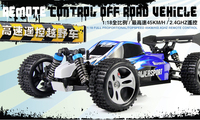 Wltoys A959 RC Truck 1:18 Scale 2.4G 4WD RTR Off Road Buggy 50KM/H High Speed Racing Car 4 wheel Climber Blue