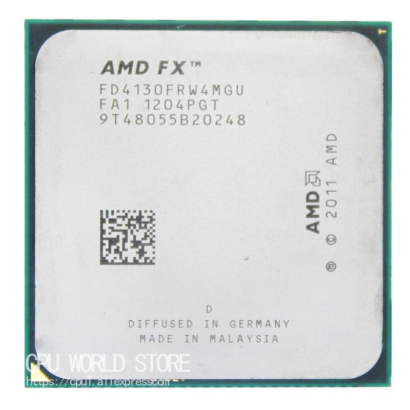 AMD FX 4130 AM3+ 3.8GHz/4MB/125W Quad Core CPU Processor FX Serial Pieces FX-4130 Sell Fx 4130 4200