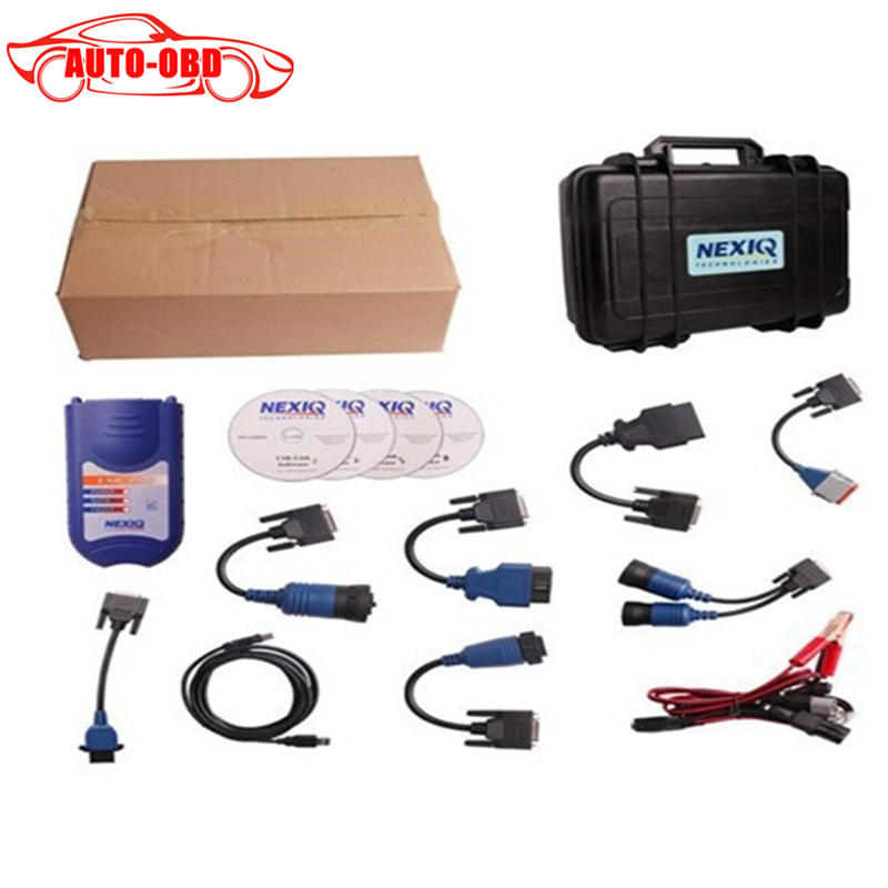 Newest NEXIQ Usb Link 125032 Truck Diesel Interface Software Full Set Nexiq 125032 USB Link Software High Quality DHL