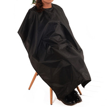 New Arrival Adult Waterproof Hair Cutting Hairdressing Cloth Barbers Salon Hairdresser Cape Gown Wrap Black Big Size 140*100