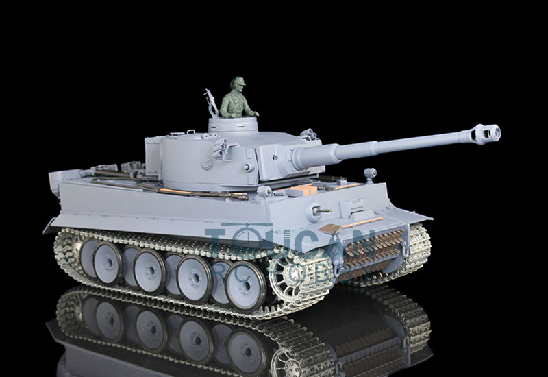 цена на HengLong 1/16 Scale German Tiger I Upgraded Metal Ver RTR RC Tank Model 3818