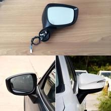 Ipoboo Singal Yan Otomatik Katlanır Güç Isıtmalı Dönüş Sinyali Mazda CX-5 Için Orijinal Yedek Yan Görünüm Ayna 2013-2014