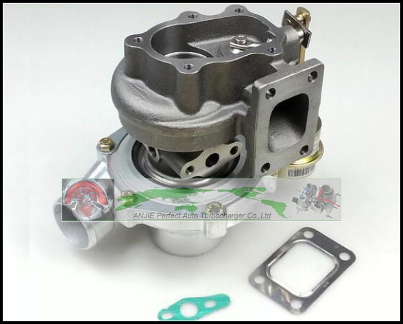 GT2860 Water Cooled Float Bearing Turbo Compressor AR 0.60 Turbine AR 0.64 Turbocharger For NISSAN S13 S14 S15 CA18DET T25 400HP