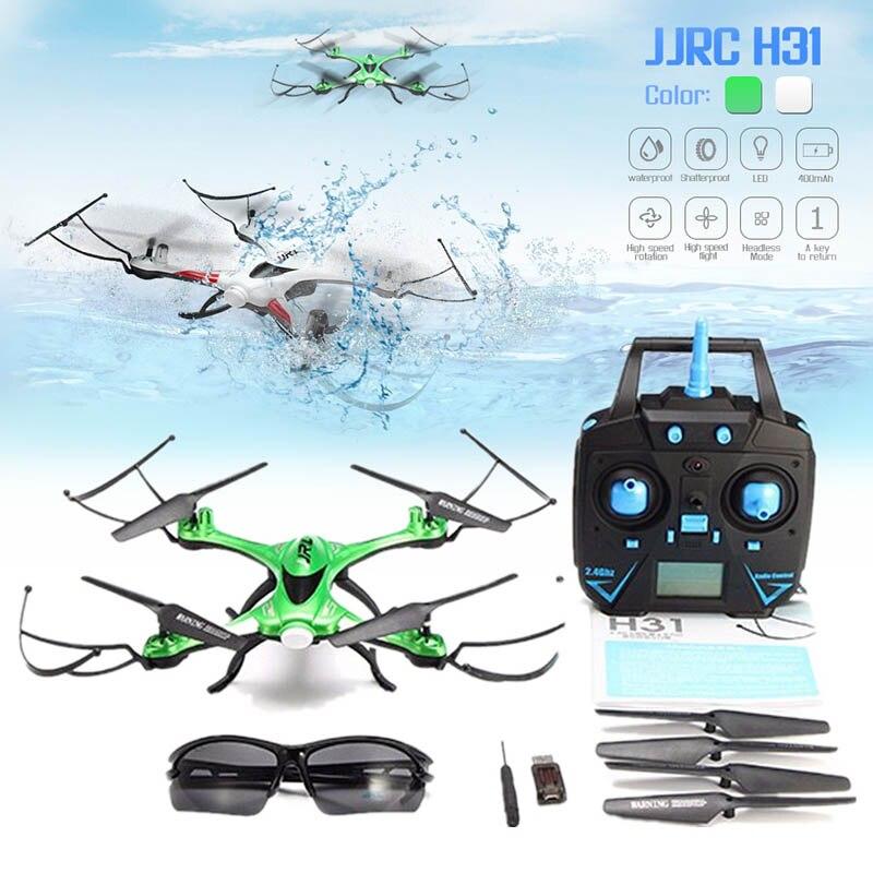 JJR/C JJRC H31 Wasserdichte Anti-crash 2,4g 4CH 6-Achse Quadcopter Headless Modus LED RC drone Spielzeug Super Combo RTF VS H37