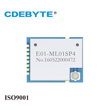 New E01-ML01SP4 Ebyte 20dBm 1800m 2.4g rf module smd nRF24L01 PA wireless receiver transmitter transceiver